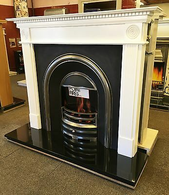 Fireplace Offer - Brand New -Surround, Cast Iron Arch Fascia And Granite Hearth!