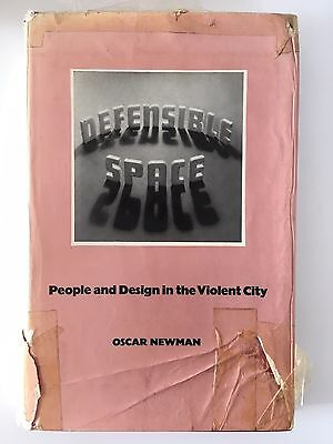 Oscar Newman - Defensible Space (1972) - Architecture Book