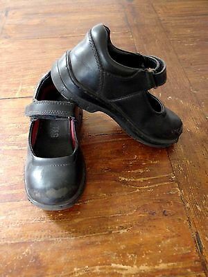 Girl's Size 7 (EU 23/24) Leather Mary Jane School Shoes