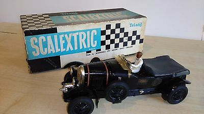 VINTAGE TRIANG SCALEXTRIC MM/C64 BENTLEY BLACK BOXED IN PERFECT CONDITION 1960s