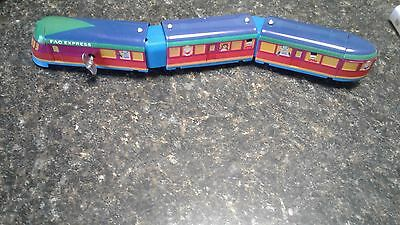 Schylling sreamliner wind up train and wagon F.A.O. Express