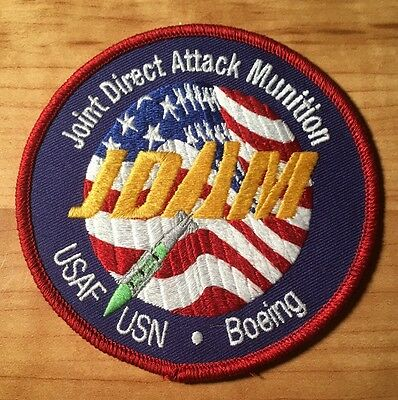 Boeing JDAM Military Patch