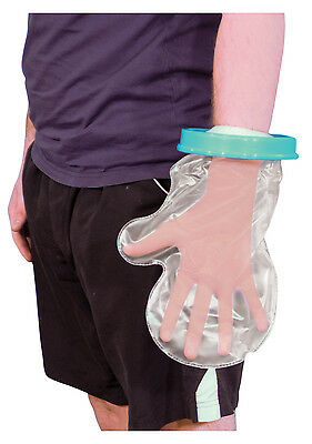 Waterproof Cast And Bandage Protector For Use Whilst Showering (Adult Hand)