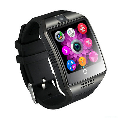 Q18 Touch Screen Smart Watch Wrist Bluetooth with SIM Card Camera Fr Android IOS
