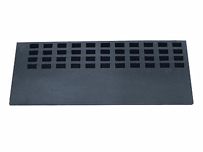 Aidapt Easy Edge Threshold Rubber Ramp (product Dimensions (mm) 60x920x350)
