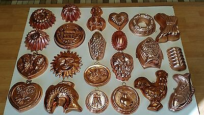 Lot of 29 Vintage Jello Molds Kitchen Antique Decor Collectibles - May Separate