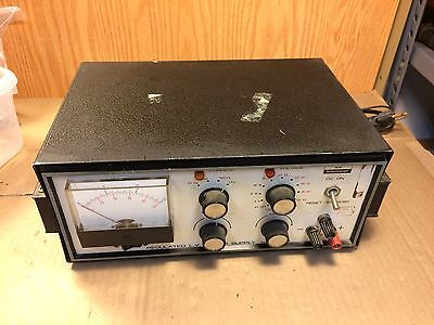 Vintage Heath Schlumberger Regulated L.V. Power Supply SP-27A Guaranteed!
