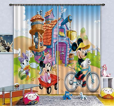 3D Cute House 7 Blockout Photo Curtain Printing Curtains Drapes Fabric Window CA
