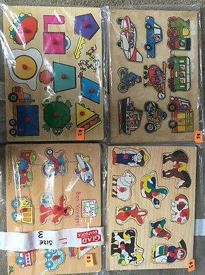 Bulk Toddler Kids Puzzles Lot 3
