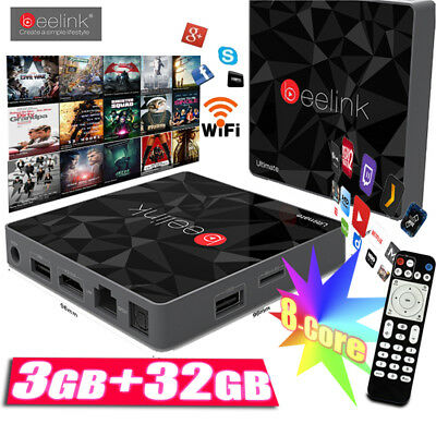 3GB+32GB Beelink GT1 Ultimate Smart TV Box Android 6.0 S912 Dual WIFI Bluetooth