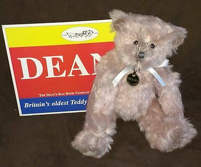 Deans Blacmange Mohair Teddy Bear - Limted Edition No 195 Of 1000  New With Tags