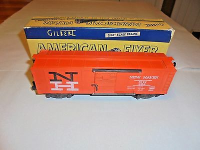 American Flyer #984 New Haven Box Car With Original Box Nice Postwar