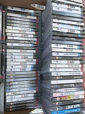 Job Lot Of 100 Ps3 Games All Boxed In Good Working Order Export Car Boot Market