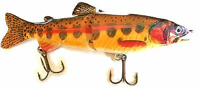 4 Pike Lures 7 inch. brown trout