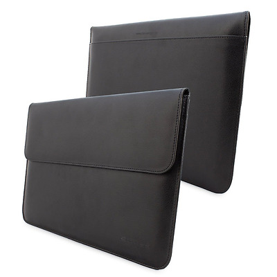Housse MacBook Air & Pro 13, Pochette de Protection Noire Pour Apple MacBook Air