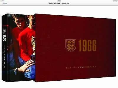1966 England World Cup Book Signed By Sir Geoff Hurst