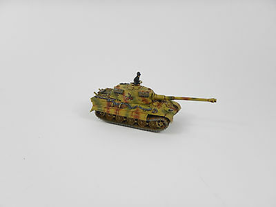 German King Tiger Flames of War Fow 15mm WW2 Pro painted
