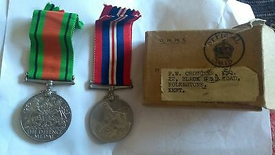 Ww2 Medals With Box