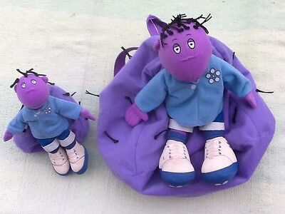"Tweenies Milo Backpack and 7"" Soft Toy."