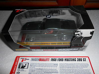 PIONEER ** MC QUEEN ** bullitt ** SLOT CAR