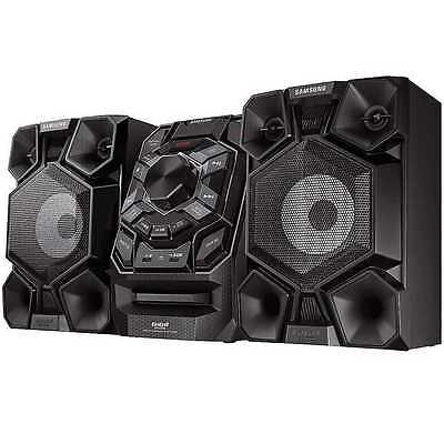 NEW SAMSUNG MX-J730 600W Giga Sound Blast Bluetooth hi-fi system USB CD Black
