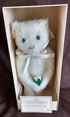 """Merrythought Diana Teddy Bear - 15"""" - L/e 2500  - New With Tags In Box"""