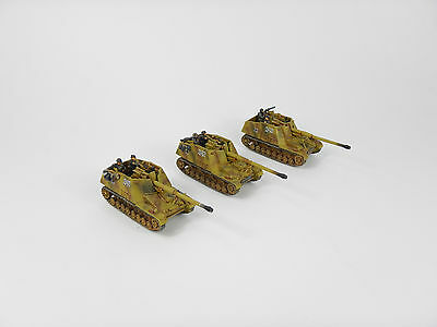 3 X German Nashorn Flames of War Fow 15mm WW2 Pro painted