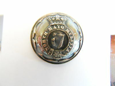 North Mayo Militia Officer's Tunic Button