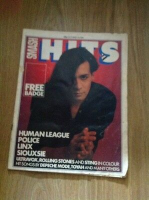 Smash Hits Magazine - October 1-14 1981 (Human League, Police, Siouxsie)