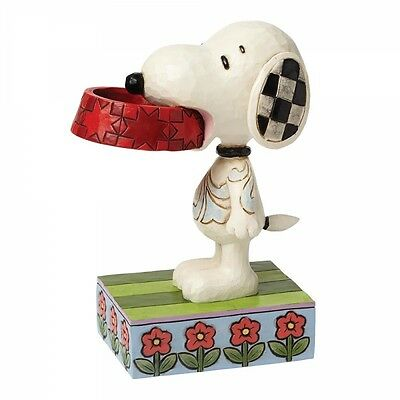 Peanuts: More Food Please (Snoopy). Designed by Jim Shore. Brand new & boxed.