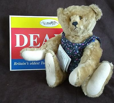 Deans Artist Showcase Mohair Teddy Bear - Emily By Maddie Janes - L/e 1500 - New