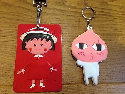 Red Girls Card holder and Pink key Ring