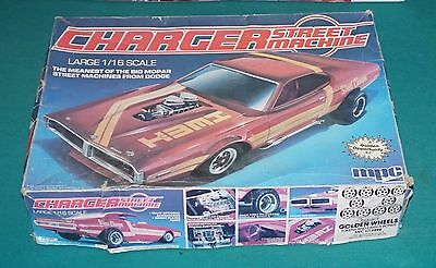 Charger Street Machine 1/16 MPC Worked On And Incomplete.
