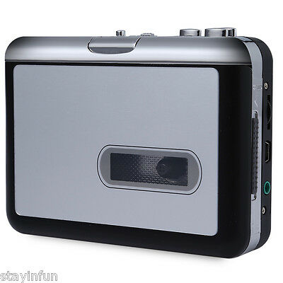Portable EC007-N Cassette to MP3 Converter Support Automatic Tape