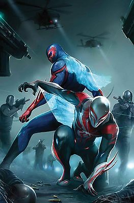 Spider-Man 2099 #24 (2017) 1St Printing Bagged & Boarded Marvel Comics