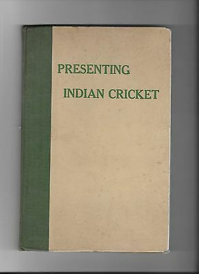 Presenting Indian Cricket , May1946 first edition Rare
