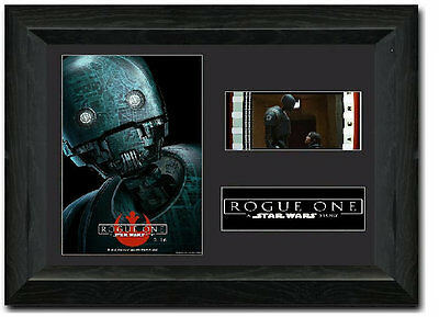 Rogue One: A Star Wars Story 35 mm Framed Film Cell Display S3 K-2SO Droid