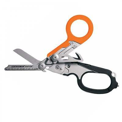 Leatherman Raptor Medical Shears with Multiple Tools (Orange with Holster)
