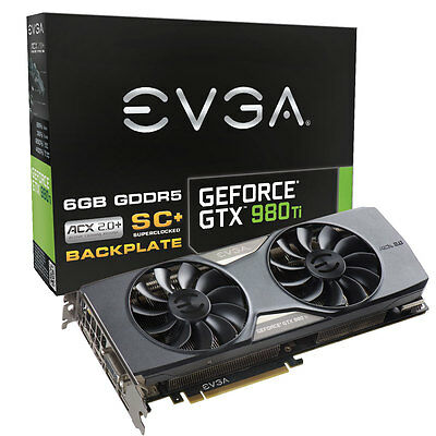 EVGA GeForce GTX 980 Ti SC+ Gaming ACX 2.0+ - 6 Go