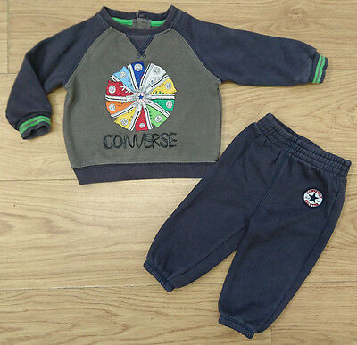 Converse Baby Boys Tracksuit Age 6-9 Months