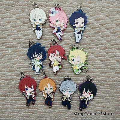 Ensemble Stars ES Game Rubber Strap Keychain Phone Charm Movic Vol.3 Ver