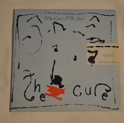 """Cure - Why Can't I Be You - 7"""" Double Pack - Numbered Limited Edition"""