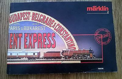 Marklin - paris budapest Orient express- catalogue 1988-1990