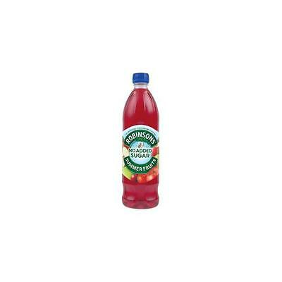A02105 Robinsons Special R Squash No Added Sugar 1 Litre Summer Fruits [Pack 12]