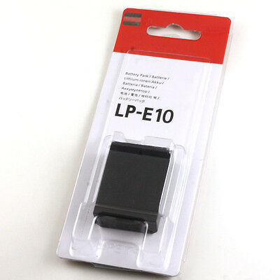 LP-E10 BATTERY For Canon EOS 1100D 1200D 1300D Kiss X50 X70 X80 Rebel T3 T5 T6