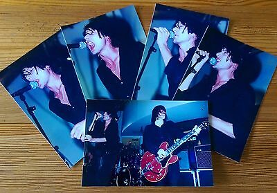 Suede x5 VERY RARE Pro Live Photographs 'Coming Up' launch night September 1996.