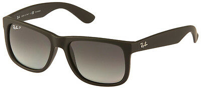 "RAY BAN RB 4165 622/T3 Gr. 54 POLARIZED ""JUSTIN"" SONNENBRILLE NEU!"