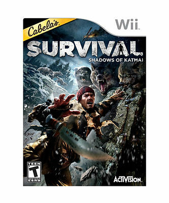 Cabela's Survival: Shadows of Katmai (Nintendo Wii, 2011)