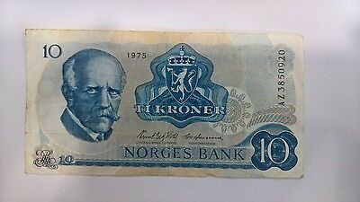 10 Kroner Note (Norges Bank)