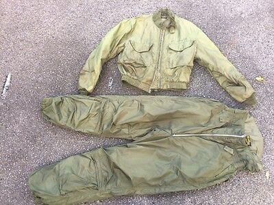 Us Navy Winter Flight Jacket And Pants.